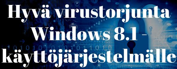 Windows Virustorjunta